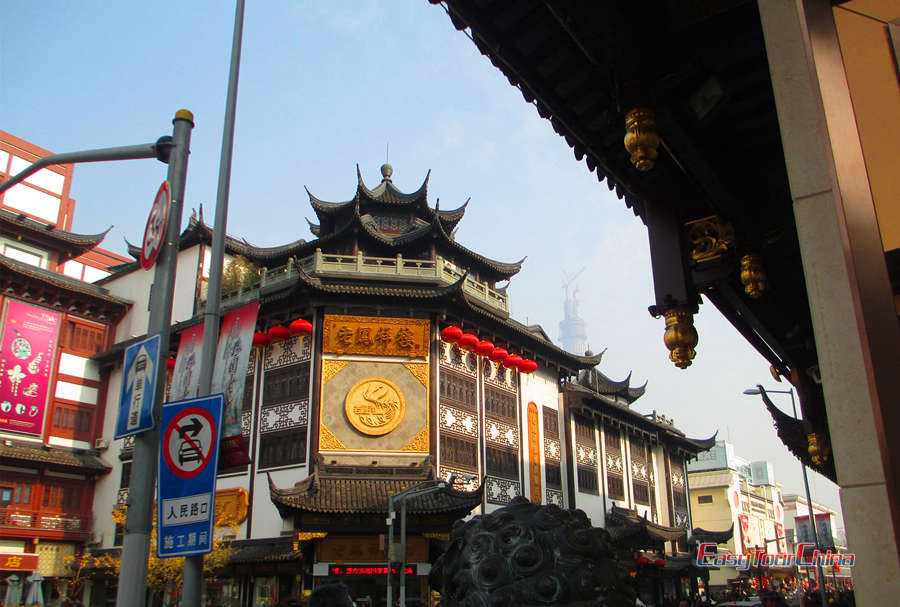 Walk the old street of Yu Market