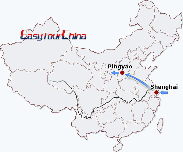 5-day Shanghai Pingyao Tour