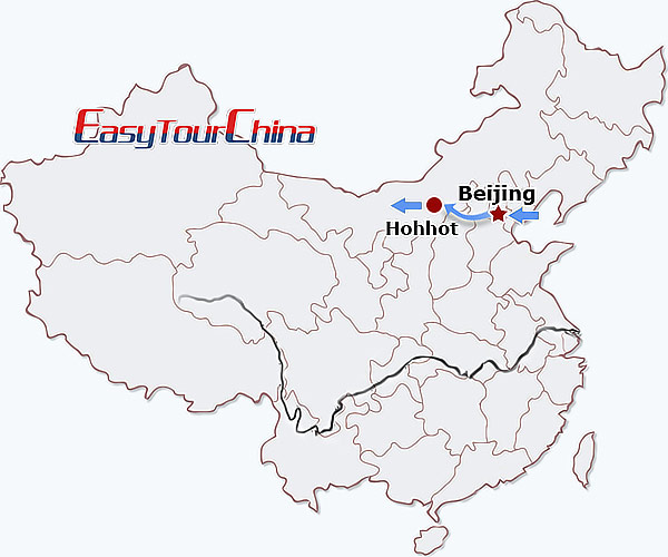 5-day Beijing Hohhot Tour