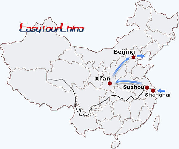 r11-day China Golden Triangle Tour for Women