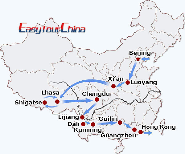 r26-day China Adventure including Tibet