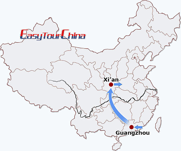4-day Guangzhou Xian Tour