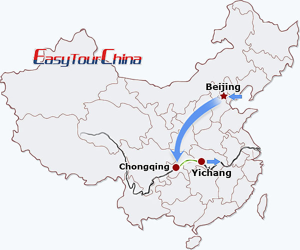 6-day Beijing Yangtze River Cruise