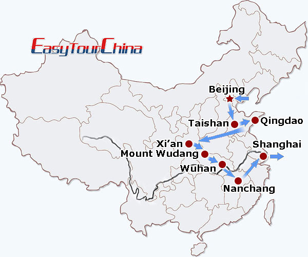 r15-day China Taoism Pilgrimage Adventure
