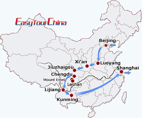 r21-day China Panorama Tour