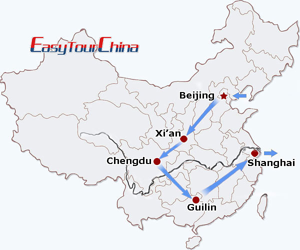 r13-day China Delight Tour for Families