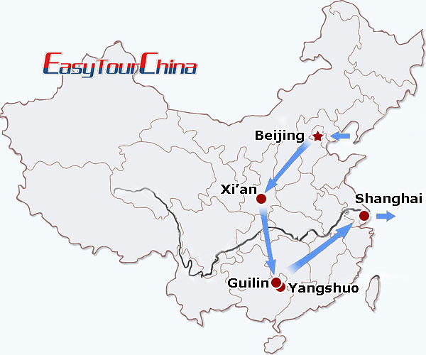r10-day China Highlight Tour for Mature Tourists
