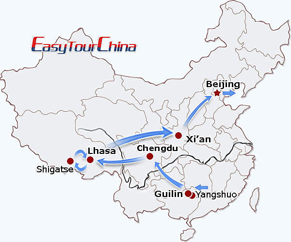 r16-day Fantastic China Journey
