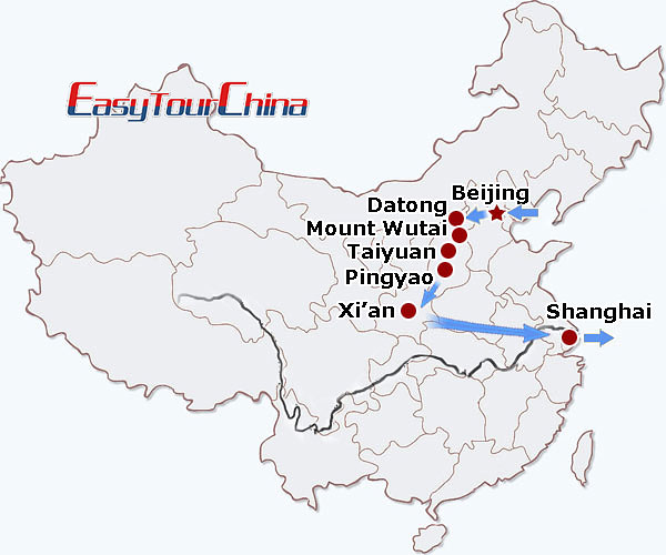 r13-day Buddhist Pilgrimage Tour to China