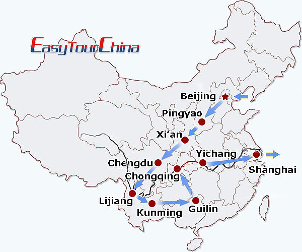 r20-day China Odyssey Tour
