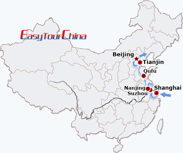 r11-day East China Exploration on Speed Rail