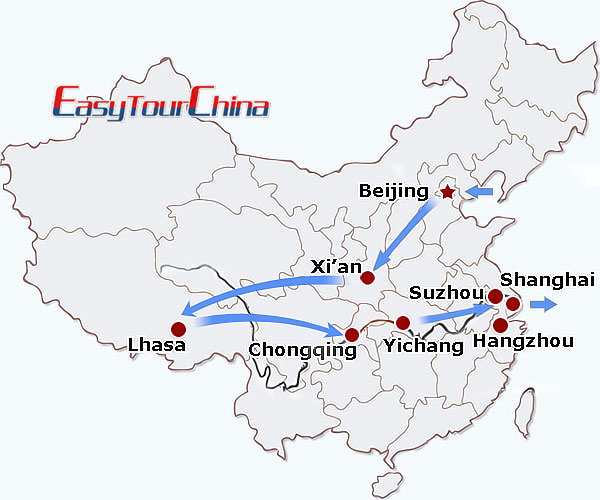 r16-day China Focus Tour