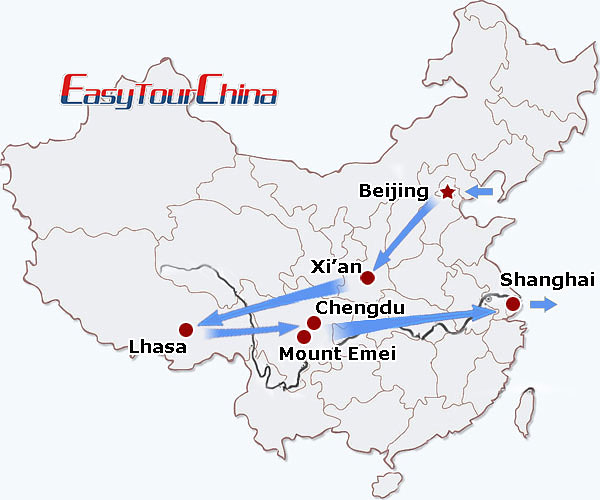r15-day Buddhist Pilgrimage Tour to China with Tibet