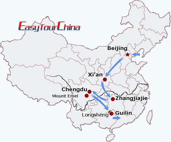 r16-day Scenic China Tour