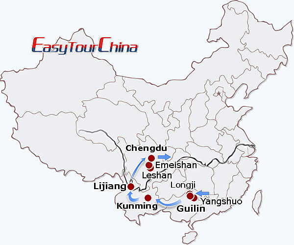 12 Day Exploration Of Southwest China Tour Holidays To Guilin
