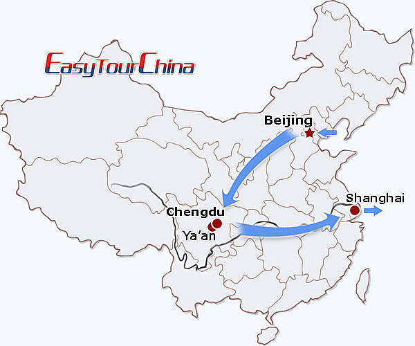 r10-day China Panda Tour