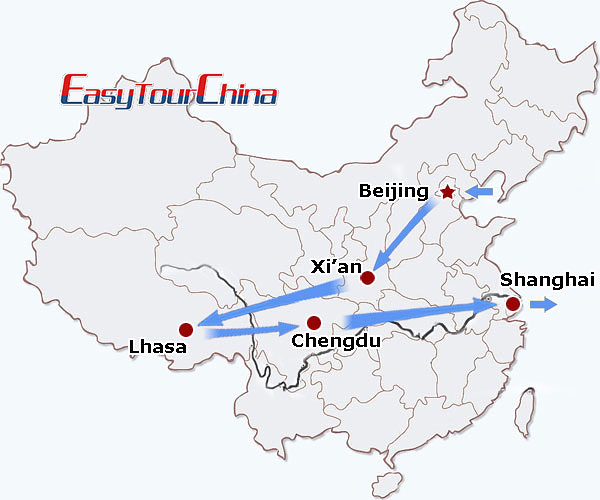 r16-day China Honeymoon Holiday