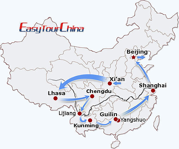 r20-day Splendid China Tour