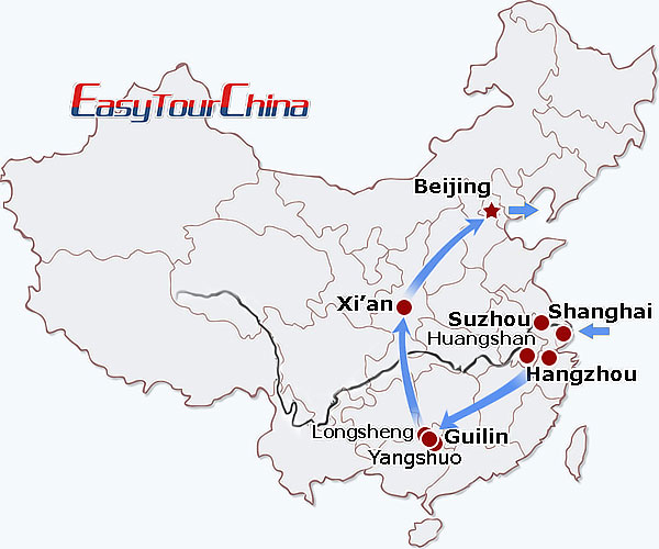 r16-day China Discovery Tour