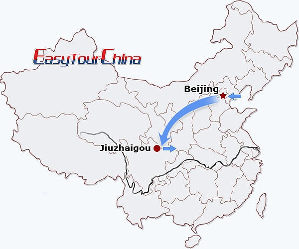 6-day Beijing Jiuzhaigou Tour