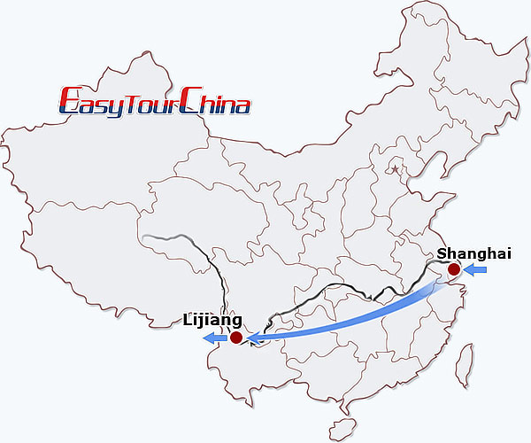 6-day Shanghai Lijiang Tour