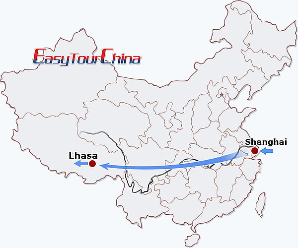 6-day Shanghai Lhasa Tour