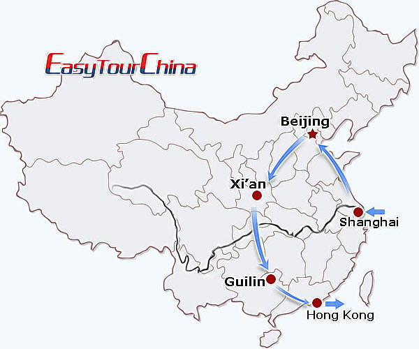 r12-day China Tour for physically disabled