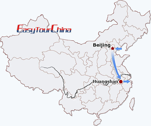 5-day Beijing Huangshan Tour