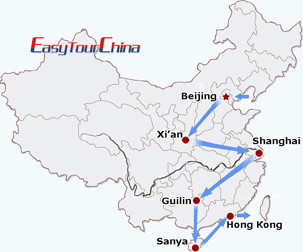 r17-day China Honeymoon Vacation