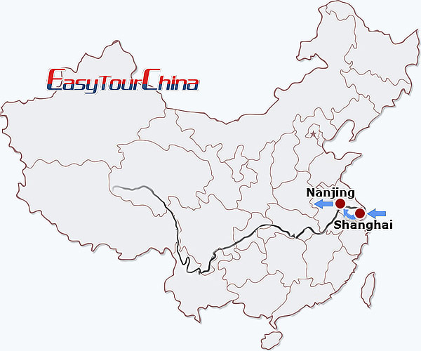 4-day Shanghai Nanjing  Tour