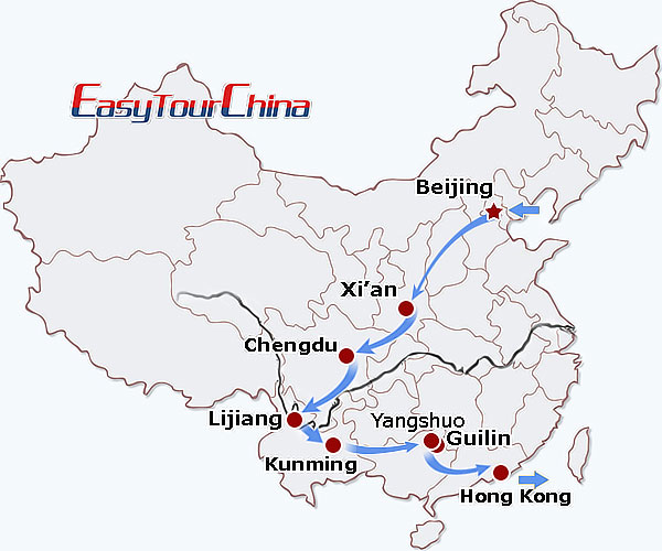 r16-day China Walking Adventure