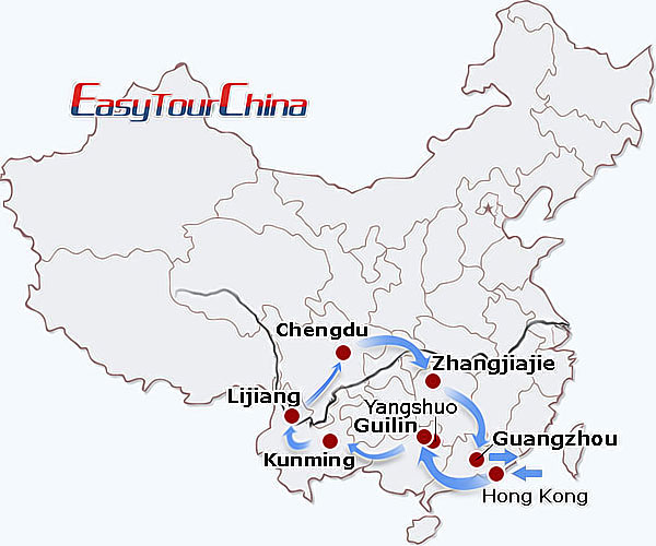 r19-day Wonders of South China