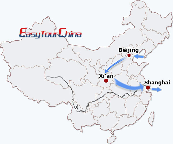 r9-day Essence Tour of China by Speed Train