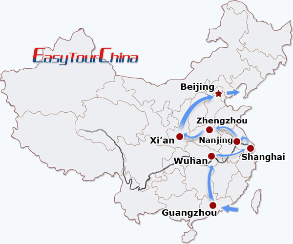 r16-day China Speed Train Discovery