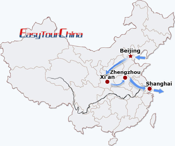r11-day Classic of China by high speed train