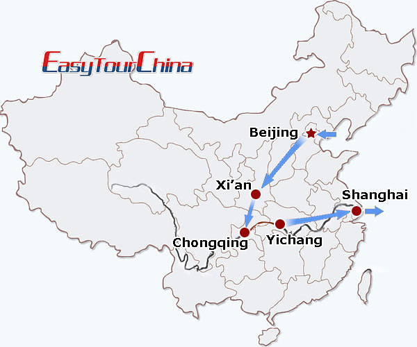 r11-day Golden Triangle with Yangtze Cruise