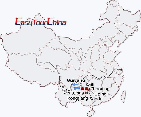 r8-day Southeast Guizhou Exploration