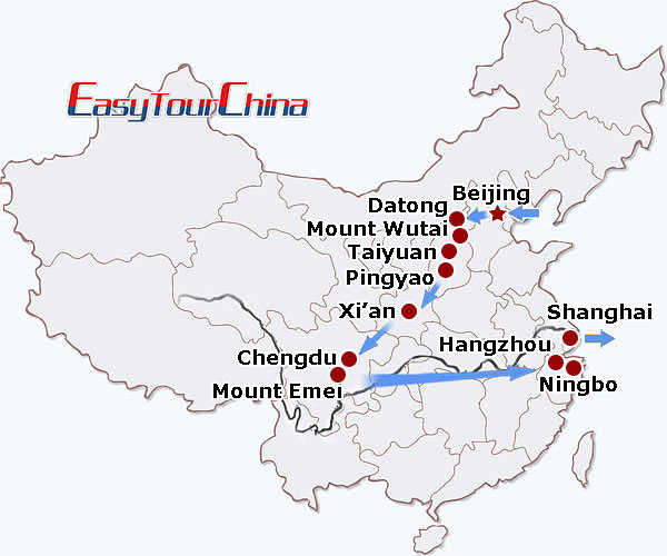 r19-day Buddhist Pilgrimage Tour to China