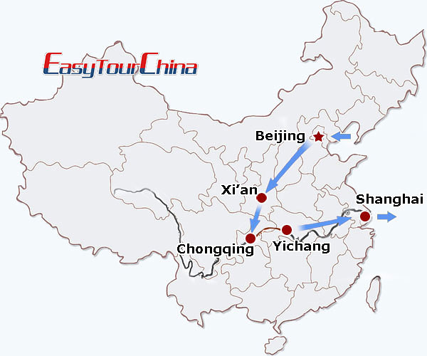r11-day China Premier Tour for Mature Tourists