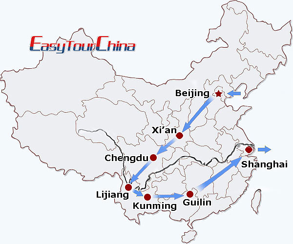 r16-day China Southwest Exploration