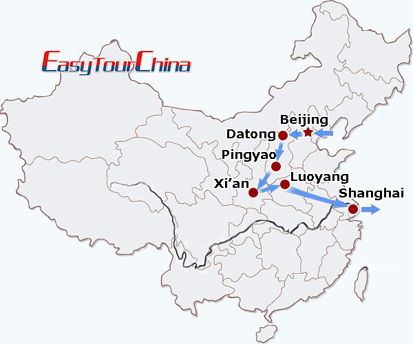 r14-day China History Tour on Train