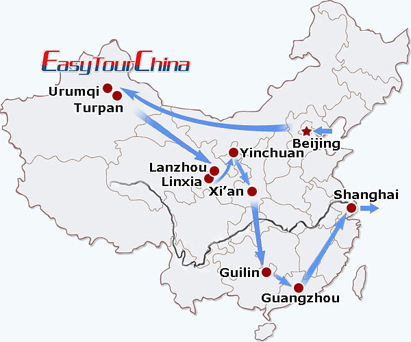 r19-day China Odyssey Tour for Muslims