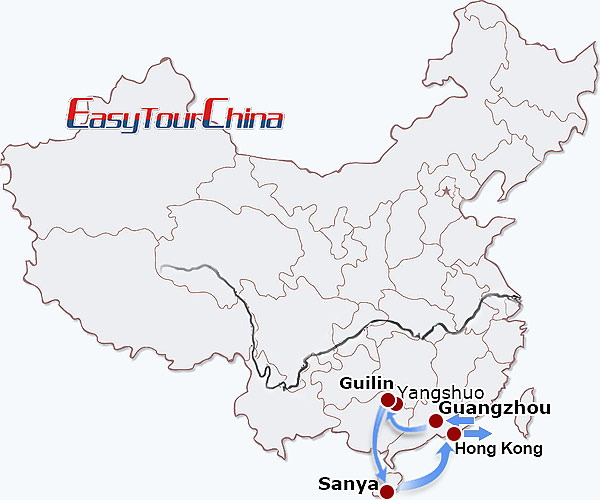 r11-day Splendid South China Tour