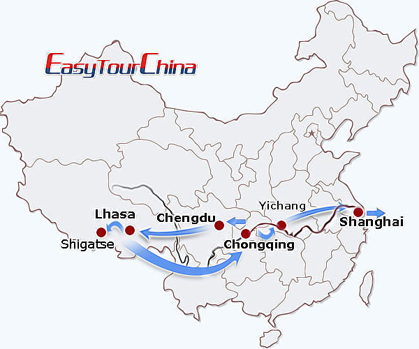 r12-day Majestic West China and Yangtze