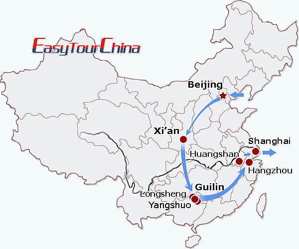 r16-day China Walking Holiday