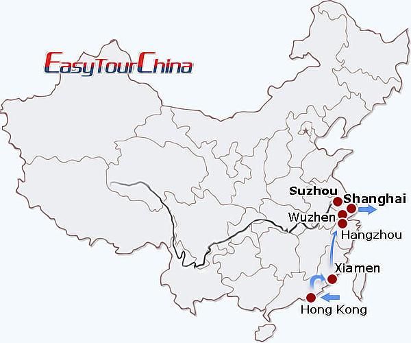 r13-day Eastern China Perspective