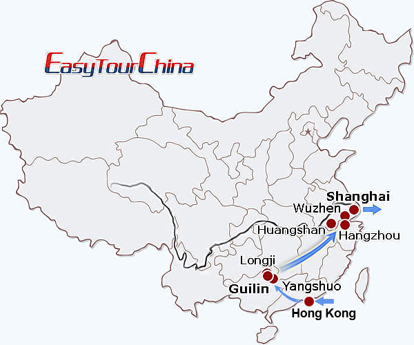 r12-day China Scenery Tour