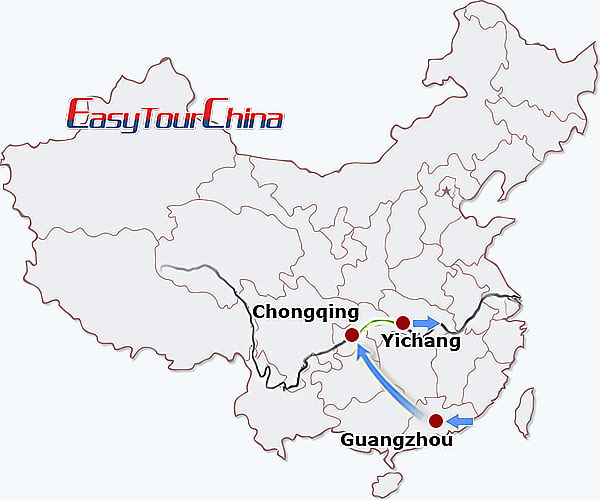 5-day Guangzhou Yangtze Cruise Tour