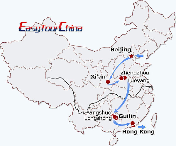 r14-day China Exploration on Train