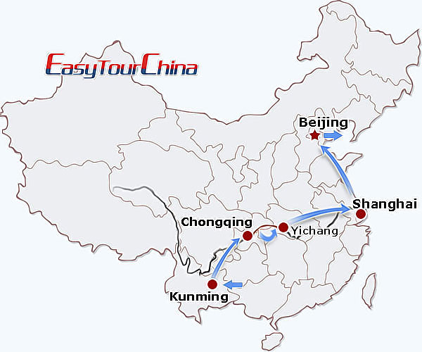 r12-day China Yangtze Passage